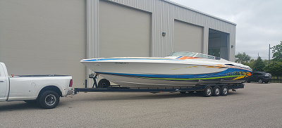 Power Speed Boat Shipping